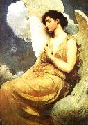 Abbot H Thayer Winged Figure oil