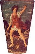 Andrea del Castagno The Young David oil