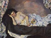 Armand guillaumin Reclining Nude oil