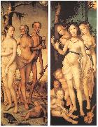 BALDUNG GRIEN, Hans Three Ages of Man and Three Graces china oil painting reproduction