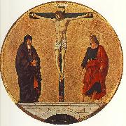 COSSA, Francesco del The Crucifixion (Griffoni Polyptych) dfg china oil painting reproduction