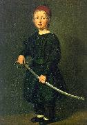 Christian Albrecht Jensen Portrait of a Boy : One of the Artist's Sons china oil painting reproduction