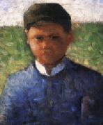 Georges Seurat The Little Peasant in Blue china oil painting reproduction