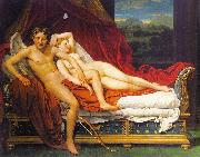 Jacques-Louis  David Cupid and Psyche1 china oil painting reproduction