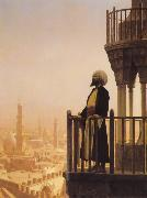 Jean Leon Gerome The Call to Prayer china oil painting reproduction
