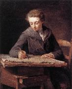 LePICIeR, Nicolas-Bernard The Young Draughtsman dg china oil painting reproduction