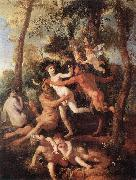 Nicolas Poussin Pan and Syrinx china oil painting reproduction