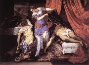 TINTORETTO, Jacopo Judith and Holofernes ar china oil painting reproduction