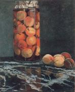 Claude Monet Jar of Peaches china oil painting reproduction