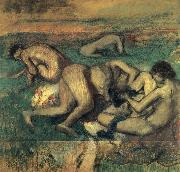 Edgar Degas Baigneuses china oil painting reproduction
