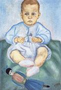 Frida Kahlo Isolda in Diapers china oil painting reproduction