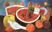 Frida Kahlo Still Life Viva La Vida y el D.Juan Farill china oil painting reproduction