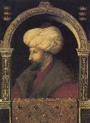 Gentile Bellini Portrait of the Ottoman sultan Mehmed the Conqueror china oil painting reproduction