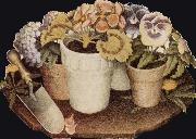 Grant Wood Cultivation of Flower china oil painting reproduction