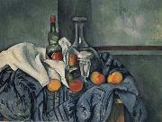 Paul Cezanne Nature mort a la Bouteille de Peppermint china oil painting reproduction