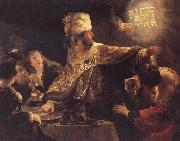 REMBRANDT Harmenszoon van Rijn The Feast of Belsbazzar china oil painting reproduction
