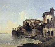 unknow artist View of the Ruins of a Palace at Gazipoor on the River Ganges china oil painting reproduction