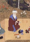 unknow artist The Poet Nizami sits in the highest rank among the great Persian poets of the past china oil painting reproduction
