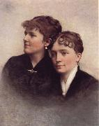 A. Bryan Wall Wife and Sister oil