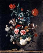 Abraham jansz.begeyn Flowers in a Stone Vase china oil painting reproduction