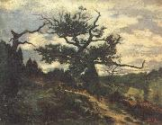 Antoine louis barye The Jean de Paris,Forest of Fontainebleau oil