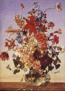 Franz Wolf Summer Bouquet china oil painting reproduction