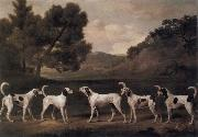 George Stubbs Foxhounds in a Landscape china oil painting reproduction