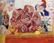 James Ensor Red Cabbage and Masks china oil painting reproduction