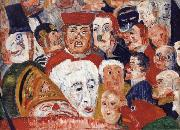 James Ensor The Drum Major china oil painting reproduction