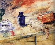 James Ensor The Blue Flacon china oil painting reproduction