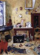 James Ensor Skeleton i the studio china oil painting reproduction