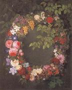 Jensen Johan Garland of flowers china oil painting reproduction