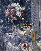 Konstantin Korovin Flower and fruit china oil painting reproduction