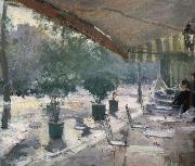 Konstantin Korovin Cafe of Paris china oil painting reproduction