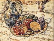Paul Signac The still life having fruit china oil painting reproduction