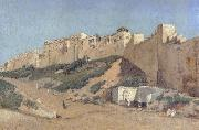 Alphonse Asselbergs The Casbah of Algiers oil