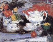Francis Campbell Boileau Cadell Still Life with White Teapot china oil painting reproduction