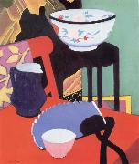 Francis Campbell Boileau Cadell The Blue Fan china oil painting reproduction