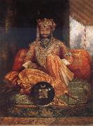 George Landseer His Highness Maharaja Tukoji II of Indore china oil painting reproduction