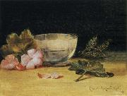 Hirst, Claude Raguet Empty Glass Bowl Surrounded china oil painting reproduction