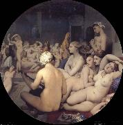 Jean Auguste Dominique Ingres Turkish Bath china oil painting reproduction