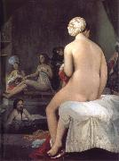 Jean Auguste Dominique Ingres Little Bather or Inside a Harem china oil painting reproduction