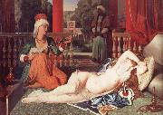 Jean Auguste Dominique Ingres Odalisque with a Slave china oil painting reproduction