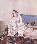 Jean-Etienne Liotard Portrait of Mary Gunning Countess of Coventry china oil painting reproduction
