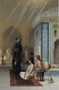 Jean-Leon Gerome Pool in a Harem china oil painting reproduction