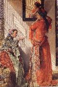John Frederick Lewis Private Conversation china oil painting reproduction