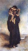 Leon Bonnat Peasant woman and her Child china oil painting reproduction