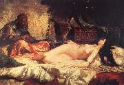 Mariano Fortuny y Marsal Odalisque china oil painting reproduction