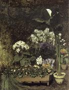 Pierre-Auguste Renoir Still Life-Spring Flowers in a Greenhouse china oil painting reproduction