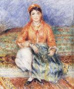 Pierre-Auguste Renoir Seated Algerian china oil painting reproduction